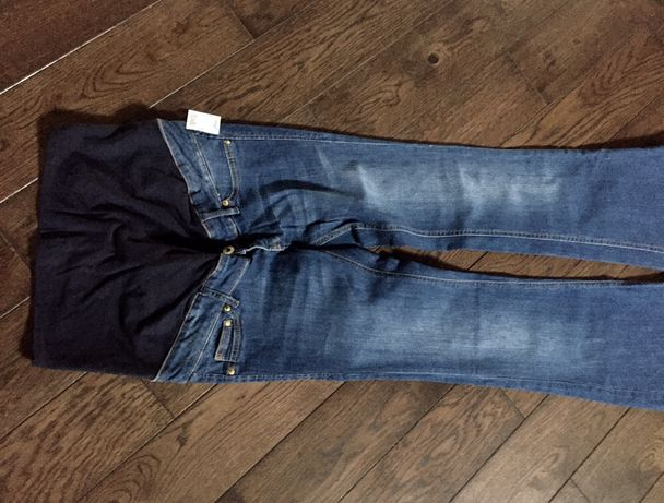 H&M Spodnie dżinsowe ciążowe 36/S NOWE