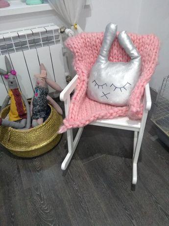 Krzesełko bujane skandynawskie