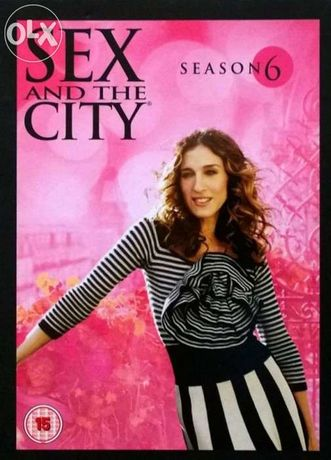 Sex And The City: Sezon 6 (5 DVD)