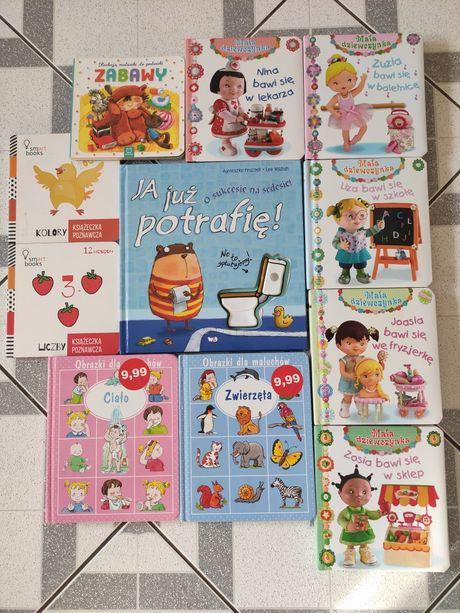 Książeczki dla malucha -Mała dziewczynka, O sukcesie na sedesie i inne