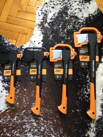 Сокири Fiskars X7 X10 X11 X17 X21 X25 Ножиці садові, Мачете для сучків