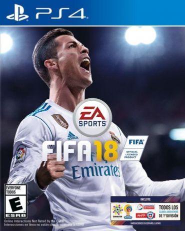 NOWA FIFA 18 na ps4 play station gra konsola play station 4