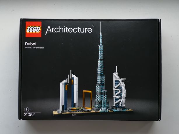 Конструктор Lego Architecture Dubai 21052 лего набор архитектура