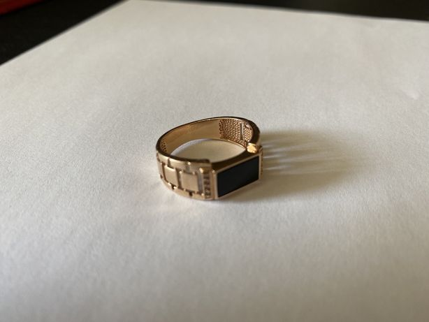 Печатка чоловіча золота, 585 проба