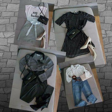 Paczka modnych ubrań, Cropp, Yessica, Sting, 36(S)