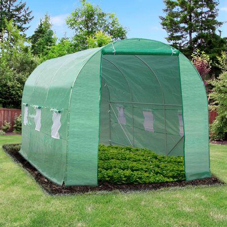 Estufa de Cultivo  Cor verde – Tubo Aço- 450x200x200 cm