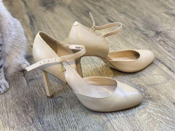 Кожаные туфли welfare, 38 размер