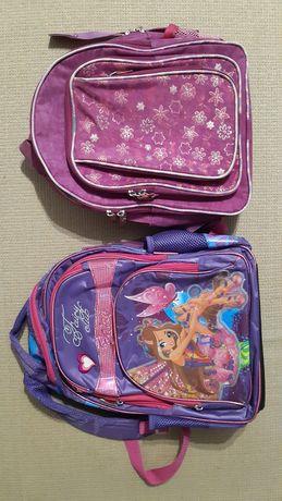 Рюкзак портфель для девочки в школу