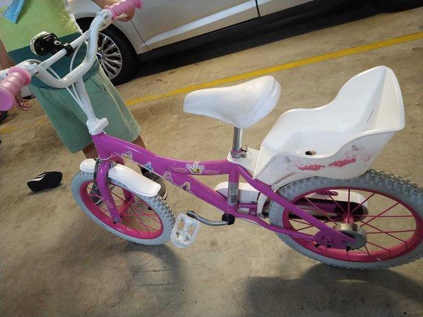 Bicicleta 16 Polegadas - Princesas