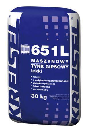 Tynk gipsowy lekki Kreisel 651l tynk maszynowy 30kg