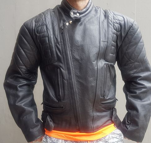 Blusão moto/couro