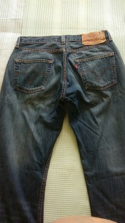 Dżinsy spodnie levis 501
