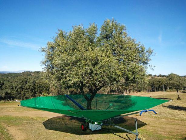 Olitree-Apanha azeitona-Toldos-Panais-Amêndoa-Panos-toldes-apara fruto