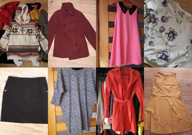 Wietrzenie szafy, rozmiar L mega paka, paczka ubrań damskich