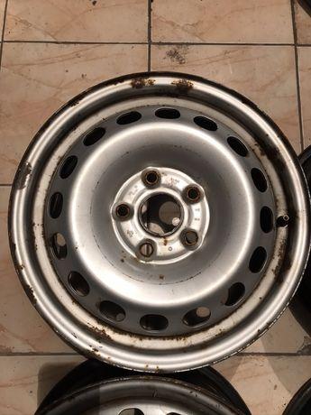 Оригинальные диски 5/112 r15 VW, skoda