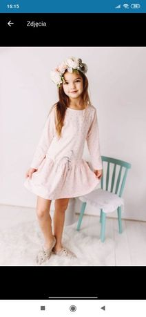 j Nowa sukienka w kropki 134