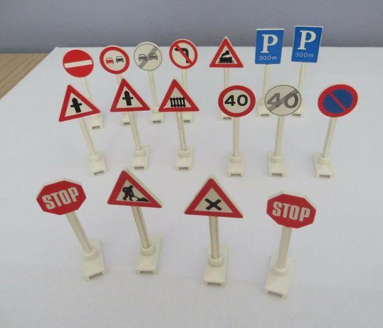 LEGO City - Packs Sinais Trânsito; Árvores; Bandeiras; Letreiros; 8401