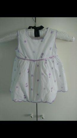 Sukienka święta chrzest 3-6 68 zestaw ubranka