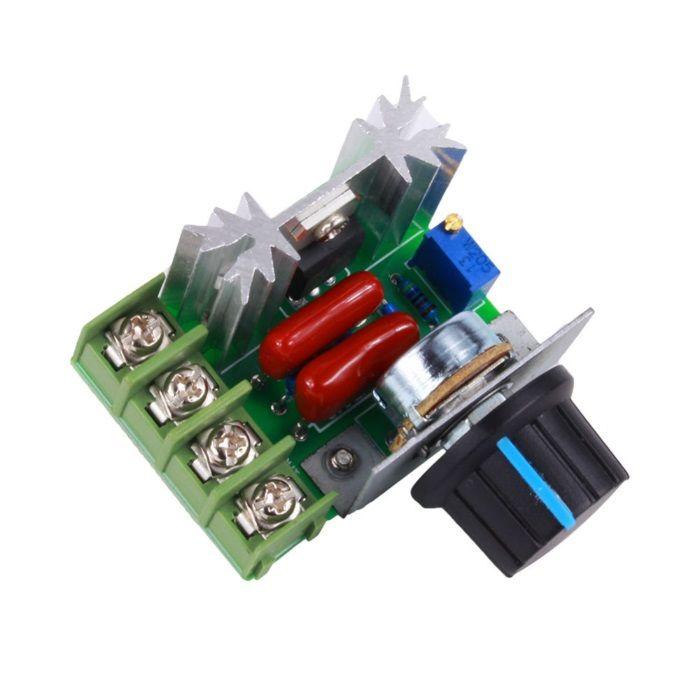 variador - regulador de tensão / velociade 220v