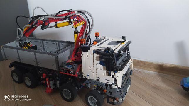 LEGO załadunek 42043 mercedes ogromny 60 cm!
