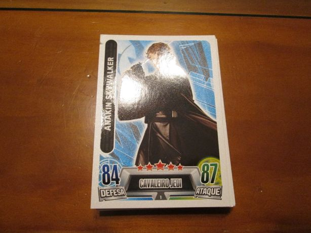 Star Wars - Force Attax Trading Card Game e Cartas LOL Surprise