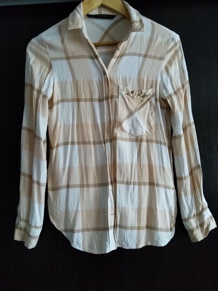 Koszula Zara r. XS perełki, stan idealny Boguchwała - image 1
