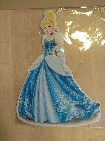 Naklejka ścienna kopciuszek Disney princess