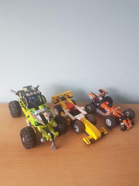 3x auta LEGO Technic