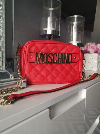 J. Love Moschino. Pikowana czerwona.