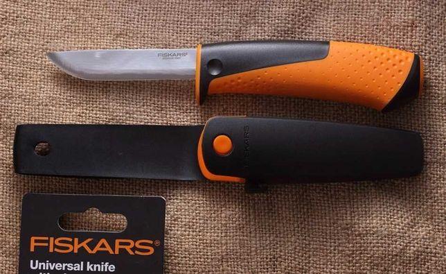 Универсальный Нож с точилкой Fiskars (1023618) Нержавеющая сталь