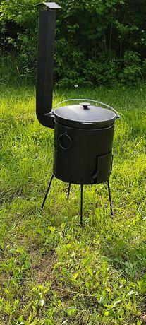 Печка 40см под казан 10-17л.печ.пічка.кухня полевая.печь садовая.ситон