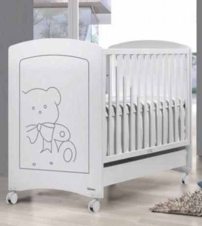 Berço bebé Trama + colchão Pigu Ecus Kids