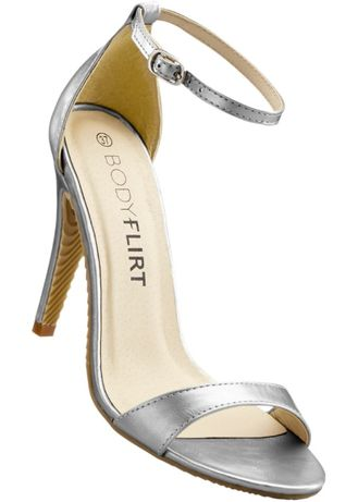 Sandały srebrne 39