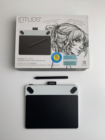 Графический планшет Intuos Draw Pen S белый