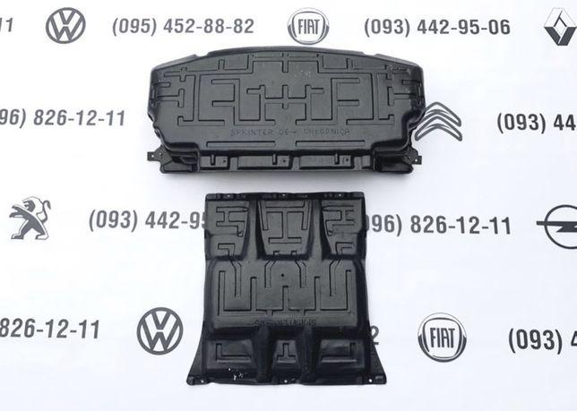 Защита  VW Crafter/Mercedes Sprinter поддона картера радиатор