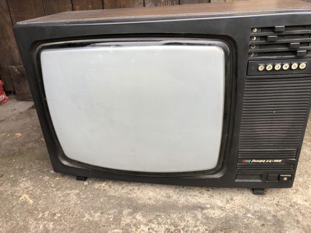 Stary telewizor Rekord Ruski