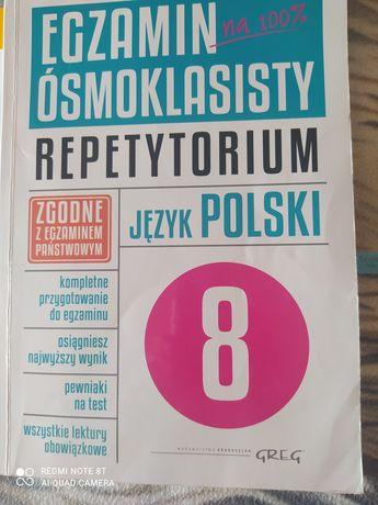 Podręcznik do repertorium j. Polski cwiczenia j. Polski i angielskiego