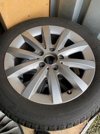 Автомобільні титанові диски 205/R16 Mercedes-Benz ризина в комплект