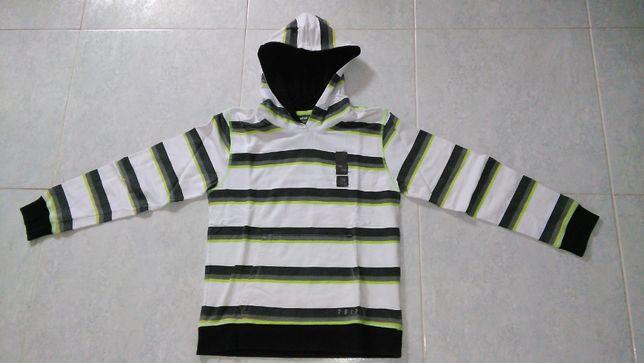 Camisola da marca Tiffosi com capuz