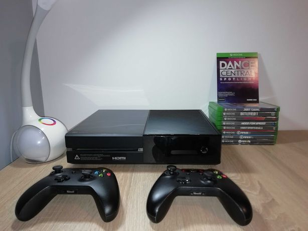 Xbox one z kinectem