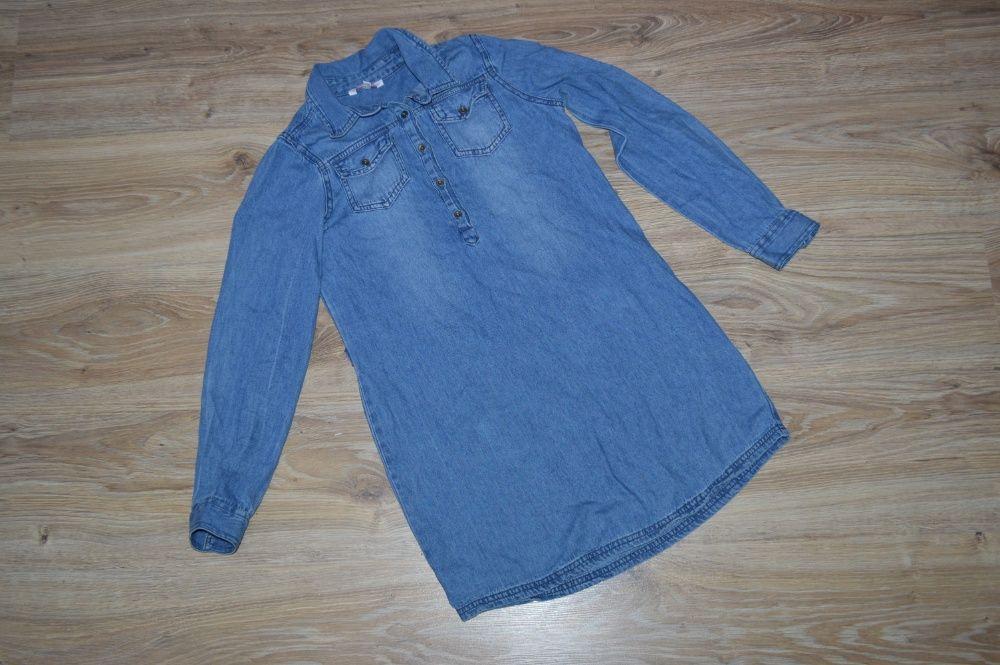 Платье-Рубашка джинсовое от miss e-vie Харьков - изображение 1