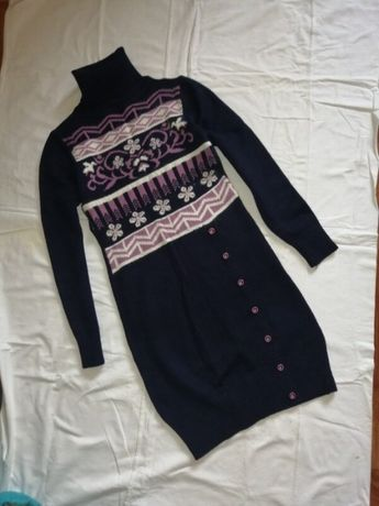 Платье туника с ангоры