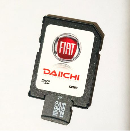 Fiat GPS SD-Card Europa 2018-19