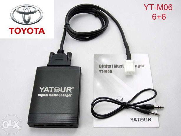 Toyota Lexus aux usb sd card адаптер Yatour. Купить в Одессе.