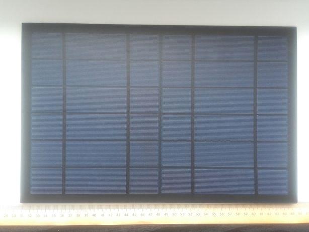 Panel słoneczny, fotowoltaiczny 6V, 1,7A, 10W, 34cm x 22cm x 3mm