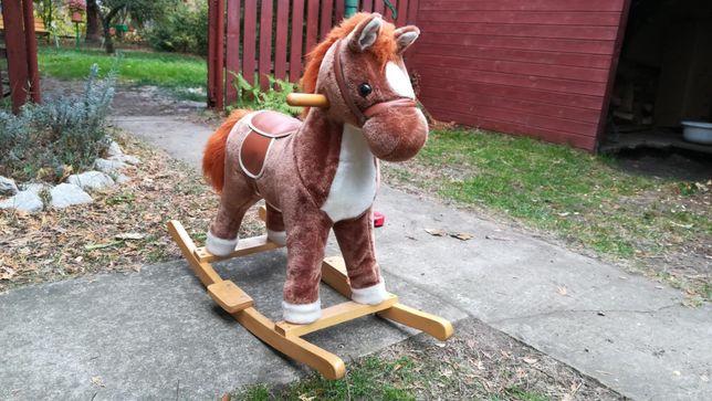 Koń bujany + hulajnoga gratis