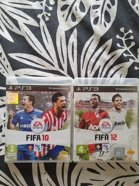 Fifa 10 e Fifa 12 PS3