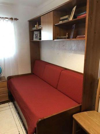 Mobília de quarto (cerne)