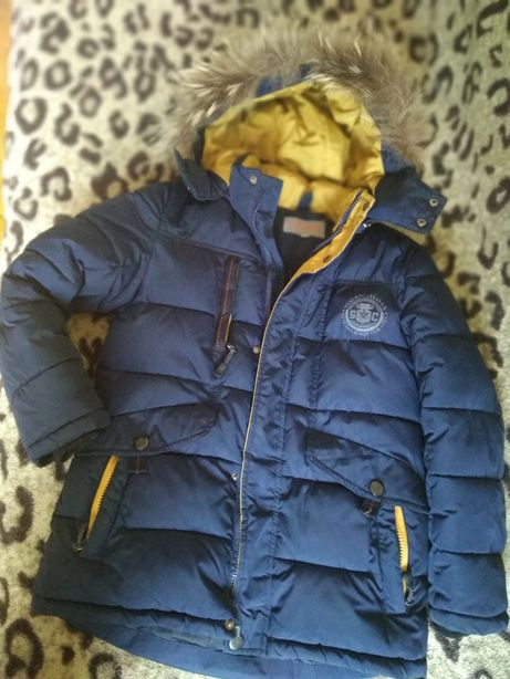 Куртка-Пуховик,134см,вік 7-9р.