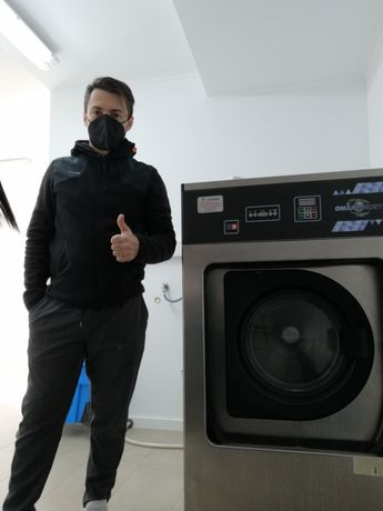 Renting de equipamentos para lavandaria self service ou indústrial